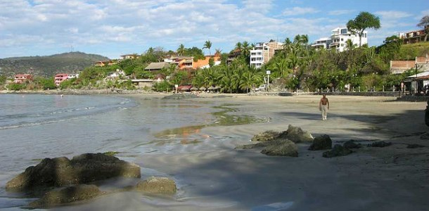Playa Munil La Is The Beach In Front Of Downtown Zihuatanejo